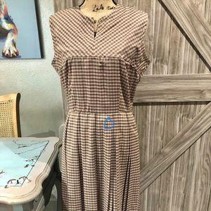 Dresses & Skirts - Vintage 1940/50's Mini check/plaid Dress